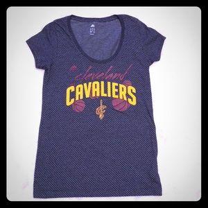 Adidas Cleveland Cavaliers Short Sleeve Top